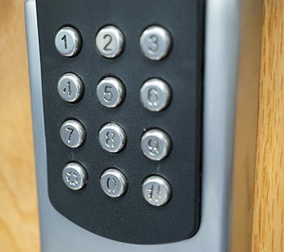 Home keypad lock