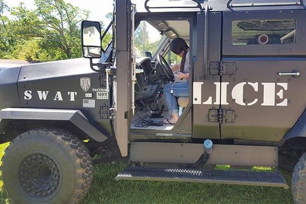 SWAT Hummer