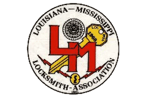 Lou Miss Locksmith Association logo