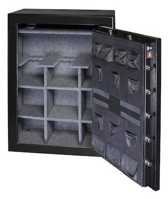 Gardall 47 Gun Safe Model GF6040 open view
